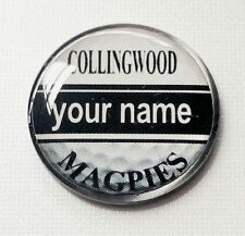 anneys - your OWN PERSONALISED  **MAGPIES** golf ball marker!!