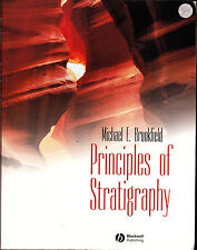 Principles of Stratigraphy by M. E. Brookfield (Paperback, 2004) Good Condition