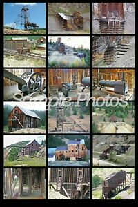 The No Frills Prototype Picture CD Guide to Modeling Ore Mines & Mills 5 CD Set!