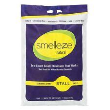Smelleze Natural Stall Smell Deodorizer Granules: 25 lb. Bag Sprinkle 3-5 Cups