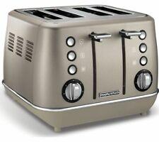 MORPHY RICHARDS Evoke Premium 4-Slice Toaster - Platinum - Currys