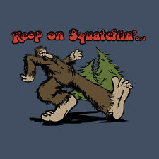 New Keep On Squatchin' Big Foot Sasquatch Xx-Large Adult T-Shirt