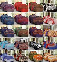 Indian Ethnic Mandala Print Bedding Super King Size Duvet Quilt Cover Blanket