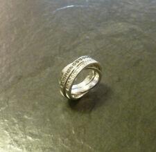 Silberring mit Zirkonia Jette Joop 925er Sterling Silber Ring Gr. 53