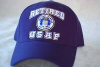 US USA USAF Air Force Retired Military Hat