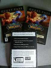 World of Warcraft Guest Pass