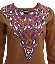 Cotton Blend Tunic, Kaftan No Tops & Shirts for Women