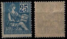 MOUCHON 25c bleu, Neuf ** = Cote 375 € / Lot Timbre France n°114