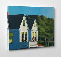 🏠 Quadro Edward Hopper SECOND STORY SUNLIGHT Stampa su Tela Vernice Pennellate