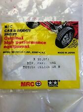 Vintage Tamiya Toyota Celica GR.B Diff Parts Bag X10071 RC Part