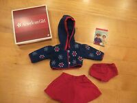 American Girl Molly's Skating Outfit, Complete, EUC, Retired!
