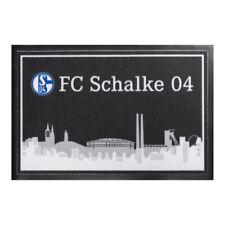 Fußmatte Skyline FC Schalke 04 Logo Türmatte Fußabtreter 11850 S04 Fanartikel
