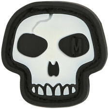 Maxpedition Mini Skull 3D Rubber Airsoft Moraal Patch Scary Badge Gloeien