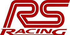 Ford RS Racing Sports Sticker Vinyl Decal Custom for Ford Focus Mondeo K5
