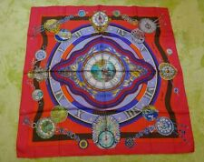 100% authentic HERMES scarf red unused goods   [pre][used]