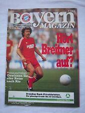 Orig.PRG   1.BL   1982/83   FC BAYERN MÜNCHEN - 1.FC NÜRNBERG  !!  SELTEN
