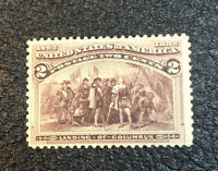 US Stamps # 231 VF/XF Mint OG NH
