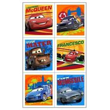 Cars 2 Party Favor Stickers 4 Sticker Sheets Per Package Birthday SuppliesNEW