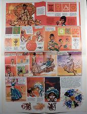 Zodiaque + Poster Pratt Collectif Arno, Chaland, Gal et Caza Ed. Humanos  TBE