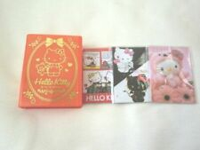Sanrio Hello Kitty  memo with case NEW book shaped 45th anniversary 02