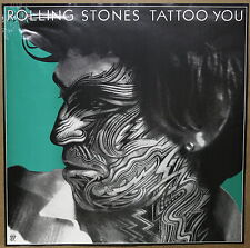 The Rolling Stones Keith Richarards Tattoo You Original Promo Poster 1981