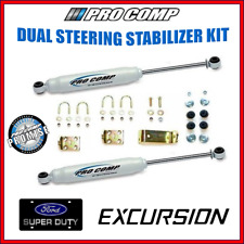 """Pro Comp Dual Steering Stabilizer Kit 0""""-8.5"""" Lift For Ford F250 F350 Excursion"""