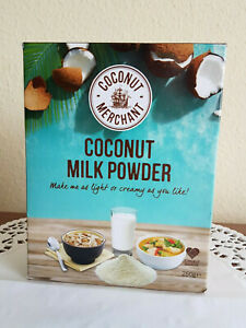 COCONUT MERCHANT Coconut Milk Powder 250g Vietnam Kokosnussmilchpulver Vegan OVP