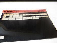 Kawasaki KX60 - A Series Parts List Micro Fiche
