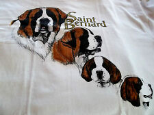 "New ListingSaint Bernard T-shirt "" Natural "" Sm ( 34 - 36 )"