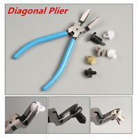 Universal Car Rivets Diagonal Plier Fastener Trim Clip Cutter Remover Puller Kit