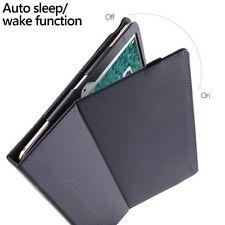 Case For Apple iPad Pro 10.5 Poetic【SlimFolio】Slim Leather Stand Folio Case Blue