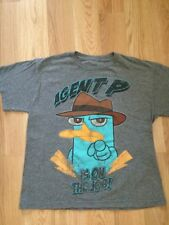 Agent P Perry The Platypus T Shirt Youth Large