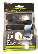 E-CIRCUIT Charge & Sync Dock Station, Android Compatible (Samsung, Sony, Motorol