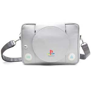 Playstation Messenger Bag console Shaped retro new Official Grey One Size