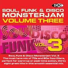 DMC Soul Funk Disco Monsterjam 3 Grandmaster Style Continuous Megamix Mix DJ CD