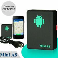 Mini A8 GPS Tracker Locator Car Kid Global Tracking Device Anti-theft Outdoor