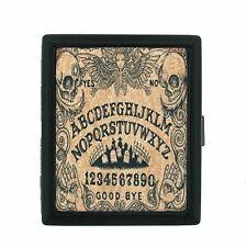 Ouija Board D3 Regular Black Cigarette Case / Metal Wallet Talking Spirit Witch