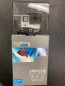 NIB GoPro Hero4 Silver Waterproof Action Camera