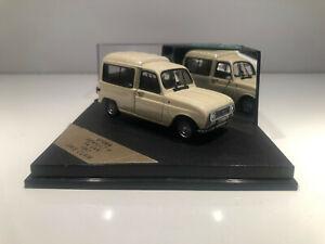 1/43 VITESSE Voiture Miniature RENAULT 4 F4 VAN 1963