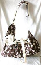 Praktische Hundetransporttasche Kleintieren Unterwegs Beuteltasche faltbar Bag