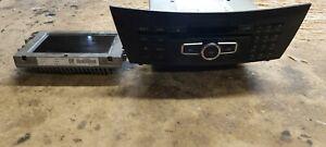 MERCEDES BENZ W204 C CLASS DVD SAT NAV WITH DISPLAY SCREEN UNIT A2049007508