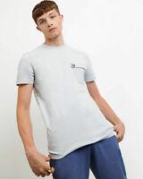 Lyle and Scott Men Nylon Pocket T-Shirt - Cotton