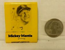 1986 Mickey Mantle Matchbook  - Mint Condition