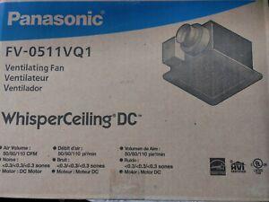 Panasonic FV0511VQ1 Whisper Ceiling Ventilation Fan - White