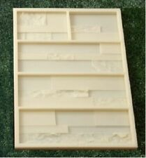 Polyurethane Molds for Concrete Plaster wall stone Form Gypsum Tiles silicone