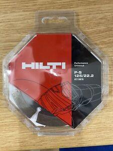 Hilti P-S 125/22.2 - Diamond Blade