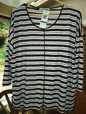NWT JONES New YORK Knit SWEATER Top LARGE $49
