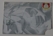 OLD TICKET CL Bayer Leverkusen Germany Manchester United England