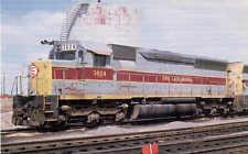 Erie Lackawanna SD-45 diesel locomotive postcard train railroad