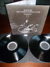 KADAVAR AQUA NEBULA OSCILLATOR Split Do-LP 2012 black 2000 copies OOP sold out